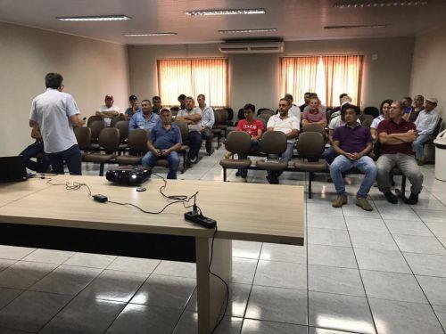 Reunião técnica com agricultores