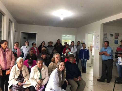 Encontro do Hiperdia em Guaiporã