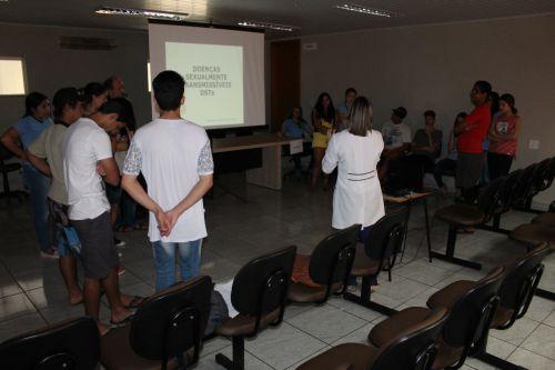 Palestra sobre prevenção das Doenças Sexualmente Transmissíveis (DSTs), HIV/AIDS e gravidez na adolescência (JAA)