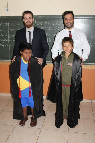 Projeto Justiça na Escola, promovido pela Comarca de Iporã.