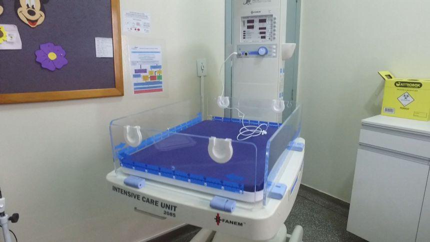 A Secretaria de Saúde de Corbélia conta agora com berço aquecido para atendimento neonatal