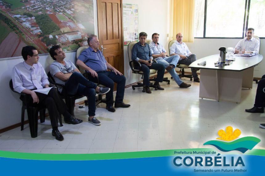 Projeto de Consórcio intermunicipal reúne Prefeitos em Corbélia