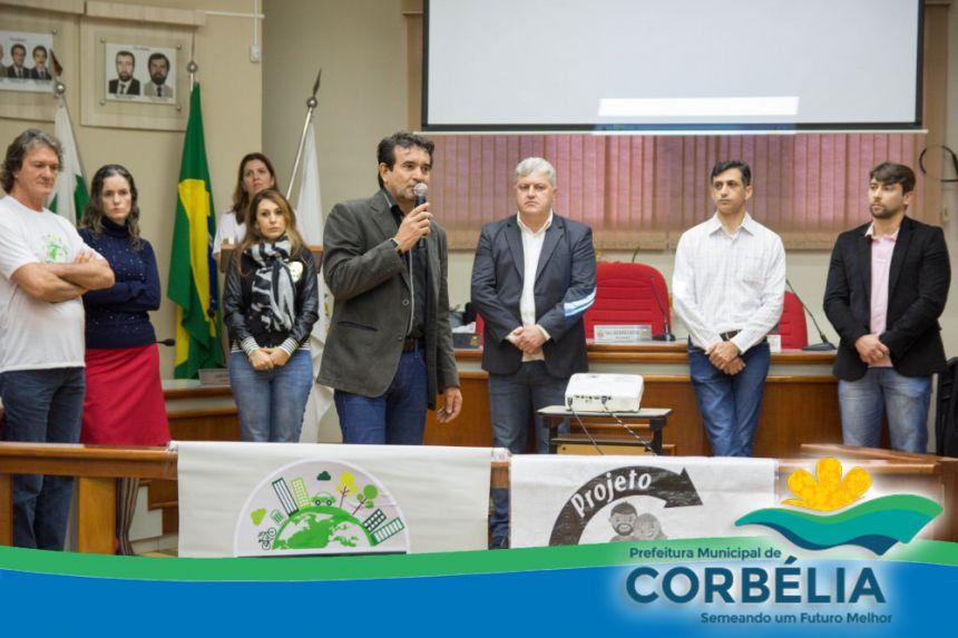 Lançamento do Projeto Cidade Limpa