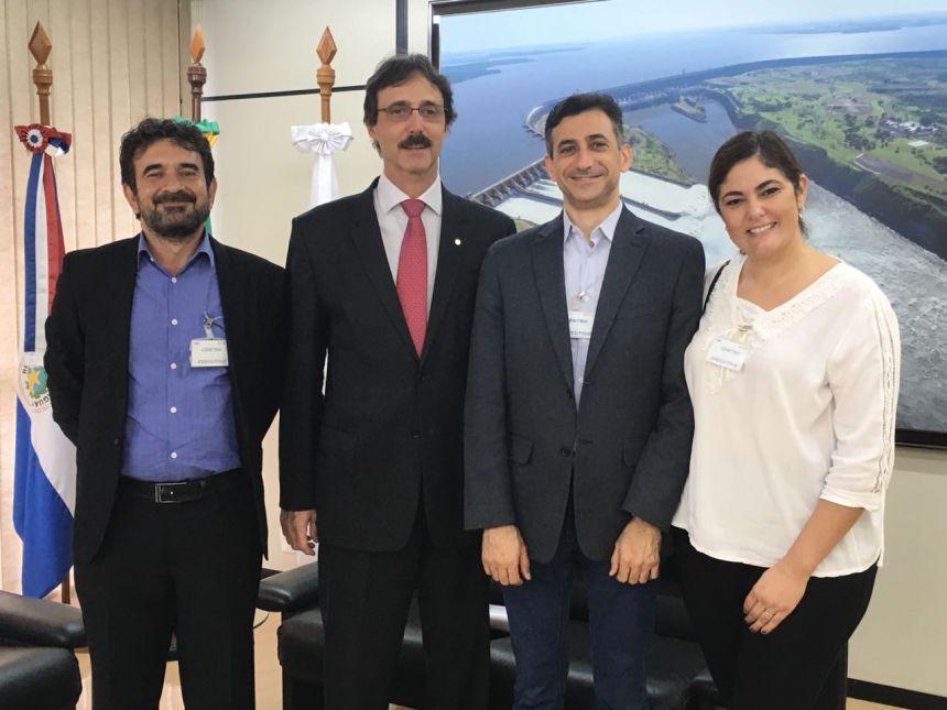 Município de Corbélia e Itaipu Binacional estreitam relações em busca de novas parcerias