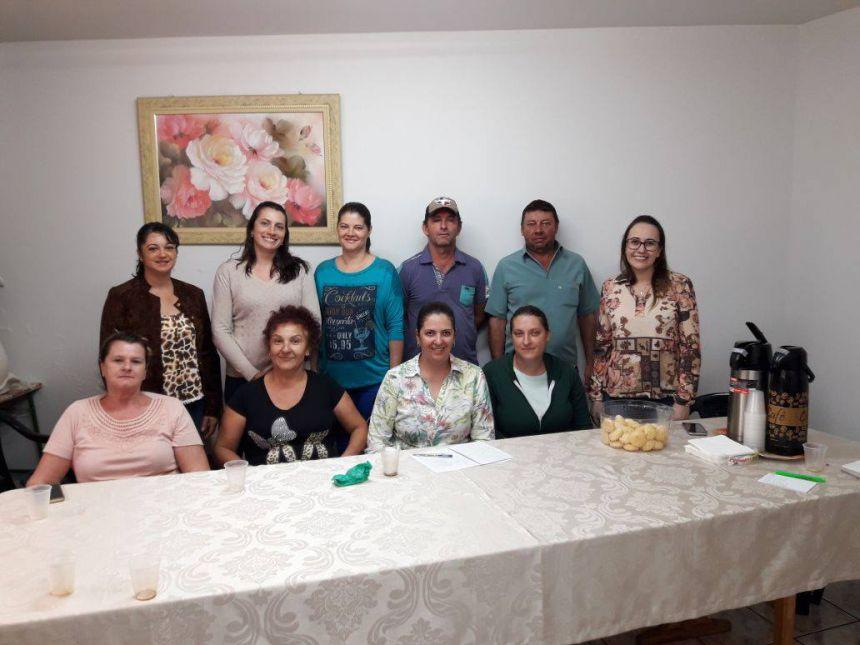 Reunião para tratar sobre a compra da merenda escolar dos agricultores familiares do município