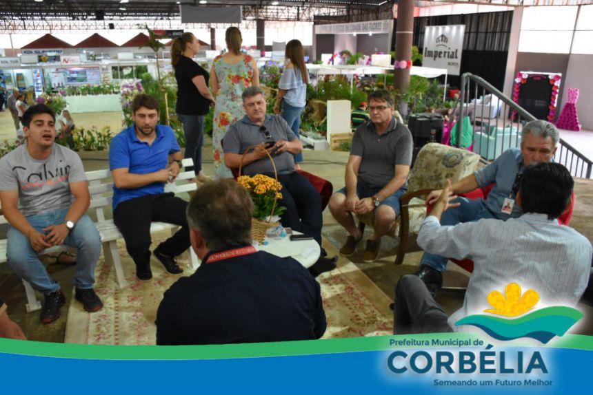 7ª edição da Festa das Flores movimenta Corbélia