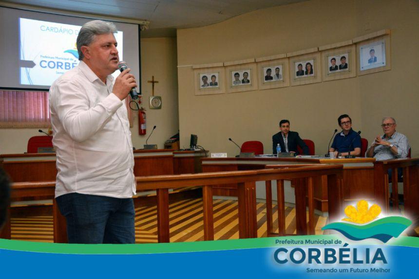 ATA DA AUDIÊNCIA PÚBLICA - CARDÁPIO DE VERBAS