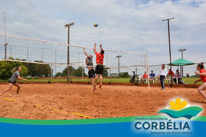 Jogos Abertos movimentam a cidade de Corbélia