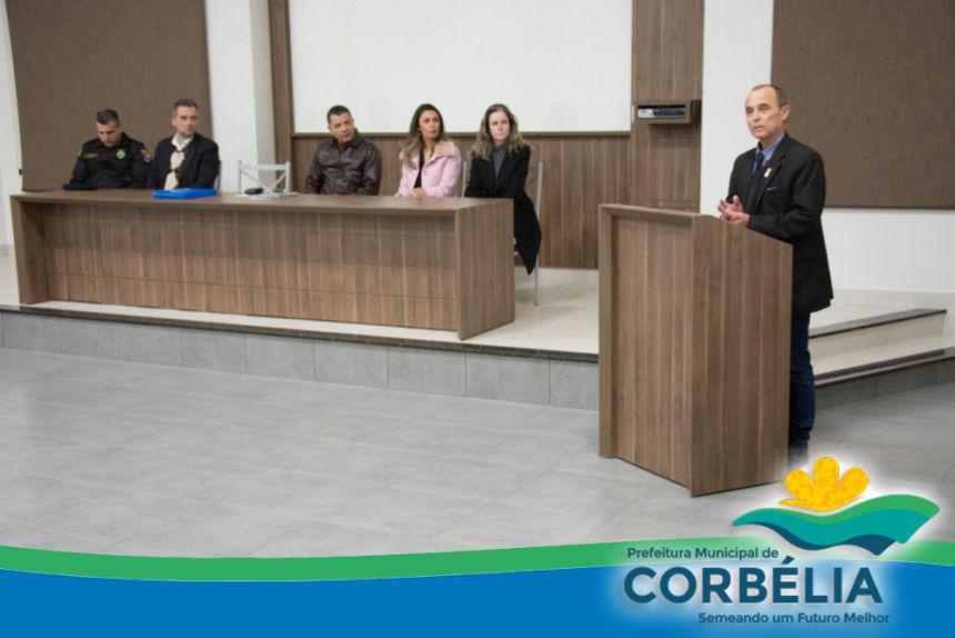 Empossada diretoria do CONSEG para gestão 2017/2019