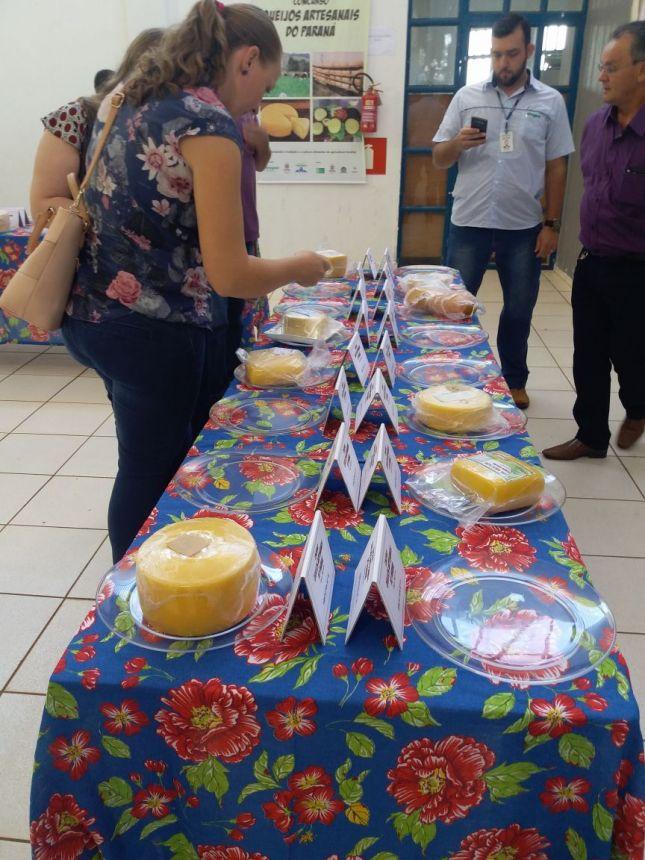 Representantes de Corbélia participam de Concurso de Queijos Artesanais em Toledo