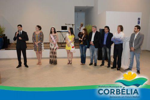Corbélia faz lançamento da Expobelia e 7º Festa das Flores