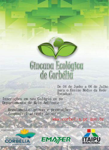 1ª Gincana Ecológica do Município de Corbélia
