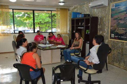 Prefeito recebe Grêmio Estudantil do Colégio Estadual Amâncio Moro