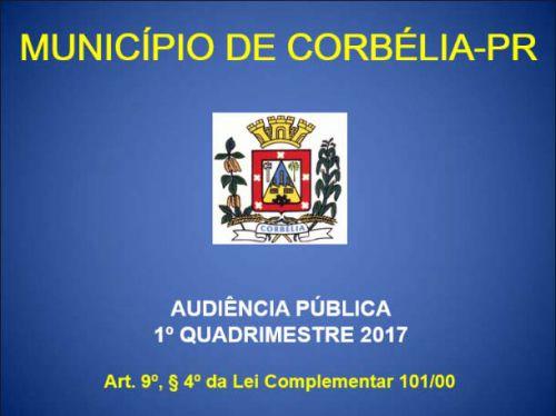 Audiência Pública 1º quadrimestre de 2017 - Saúde e Poder Executivo