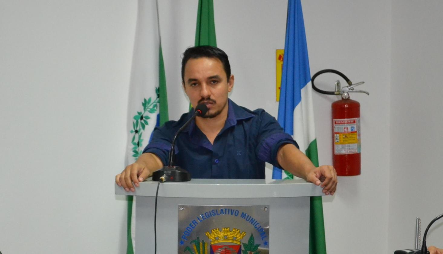 Projeto é do vereador Édi Willian Moreira dos Santos