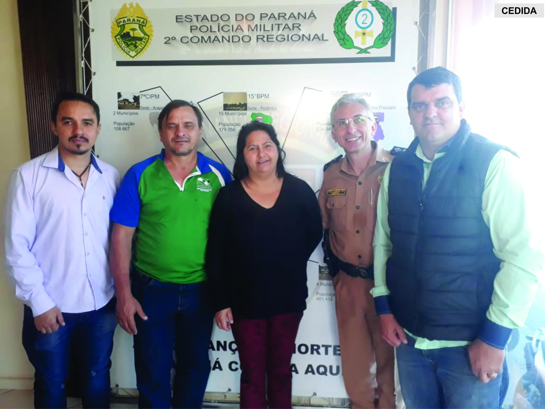 Reunião ocorreu com a PM em Londrina