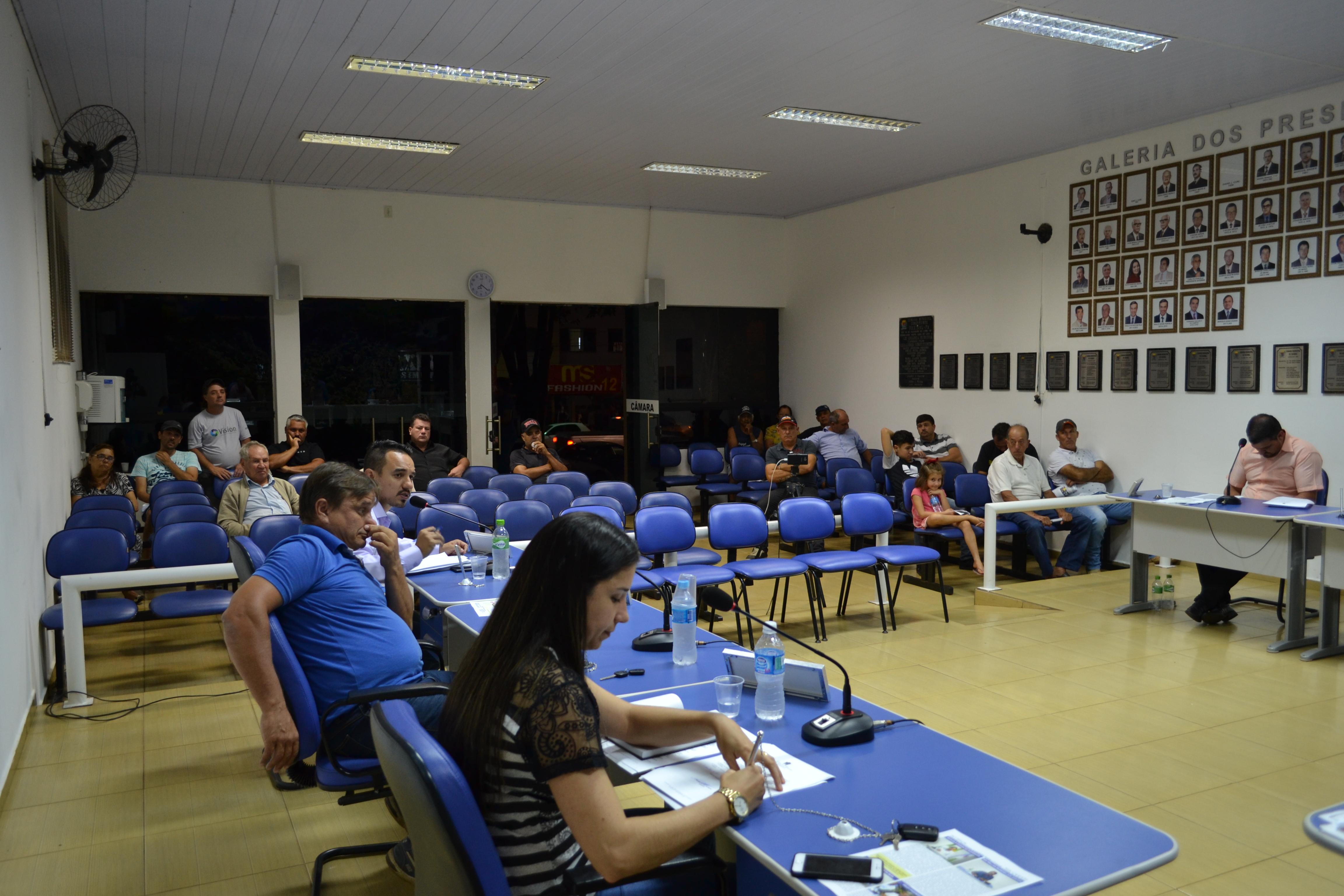 Projeto institui Câmara Mirim de Faxinal