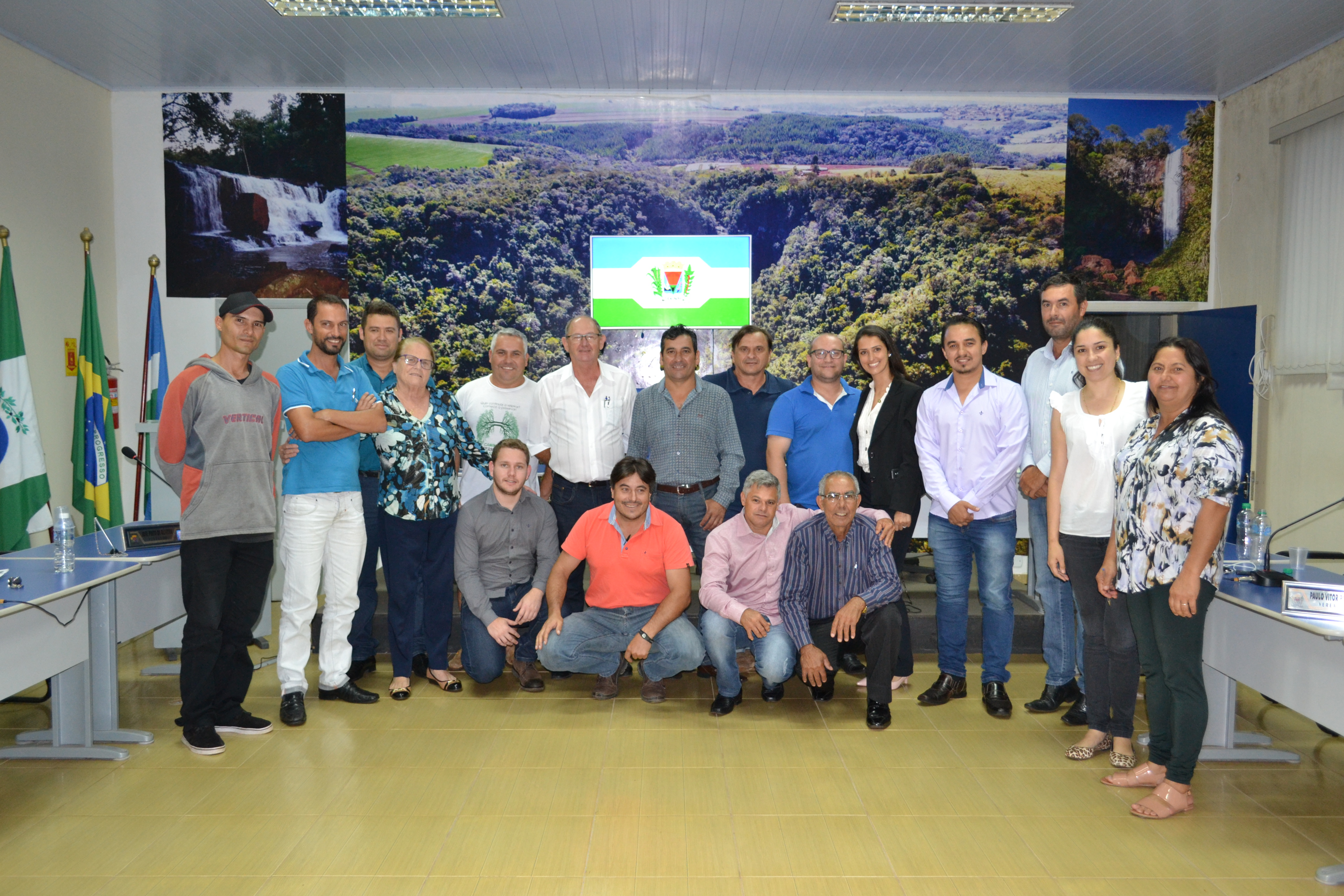 Integrantes de Faxinal compõem diretoria da Amuvitur