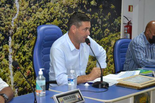 Presidente da C�mara, Paulo Vitor Portela