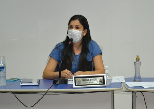 Vereadora Marcela Carvalho Rodrigues