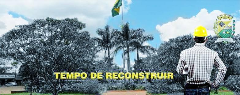 TEMPO DE RECONSTRUIR