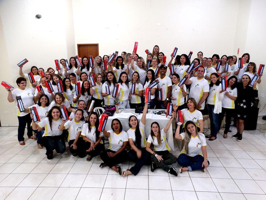 """OFICINA """"A UNIÃO FAZ A VIDA""""."""
