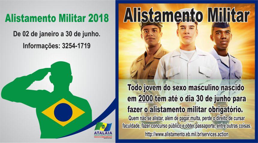 ALISTAMENTO MILITAR