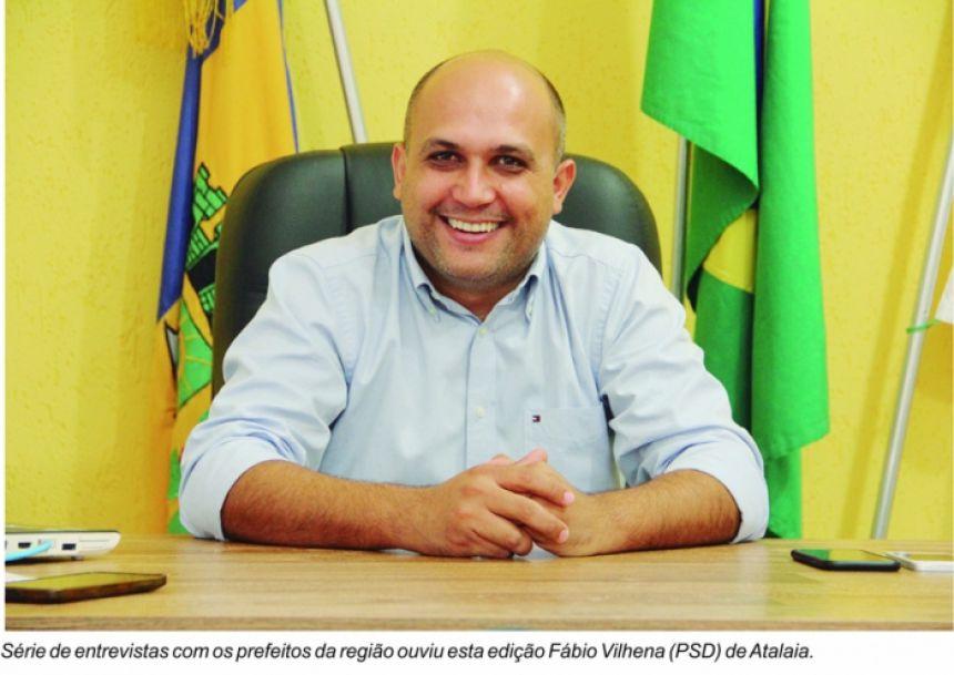 Fabio Vilhena anuncia a construção de novo hospital e geração de empregos em Atalaia