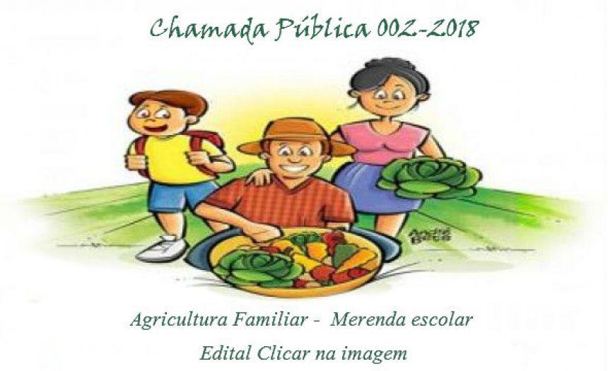 CHAMADA PUBLICA 002-2018