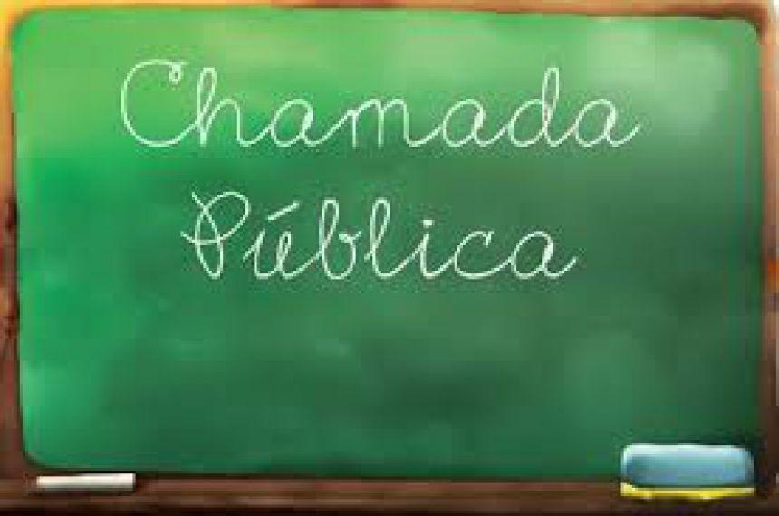 CHAMADA PÚBLICA 005 -2018