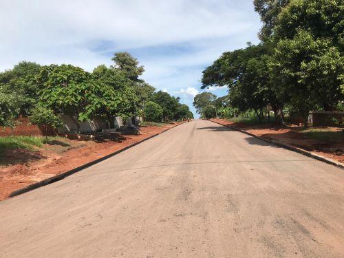 Asfalto na Rua São João