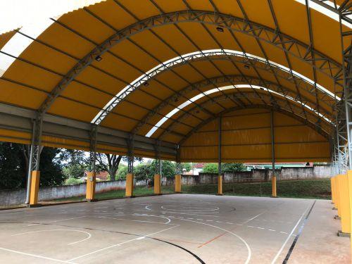 Quadra Esportiva - Escola Municipal