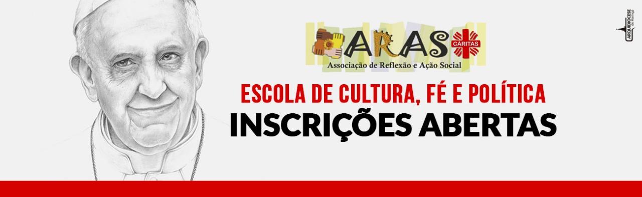 Inscrições Escola de cultura, Fé e Política