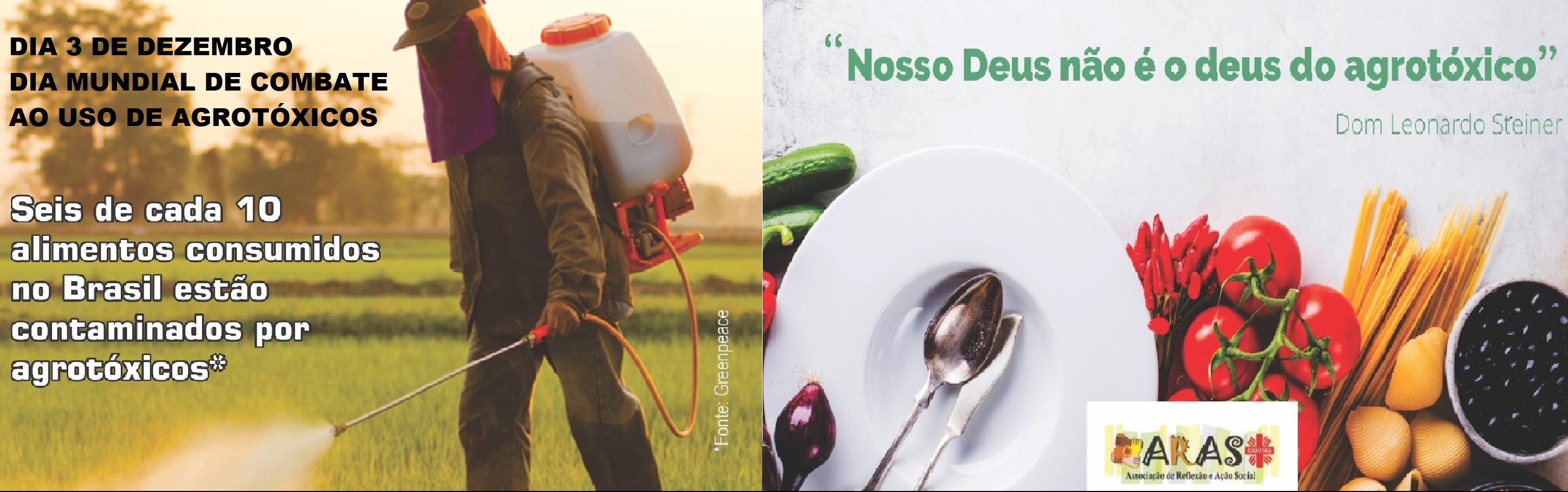 Dia Mundial de Combate ao Uso de Agrotóxicos