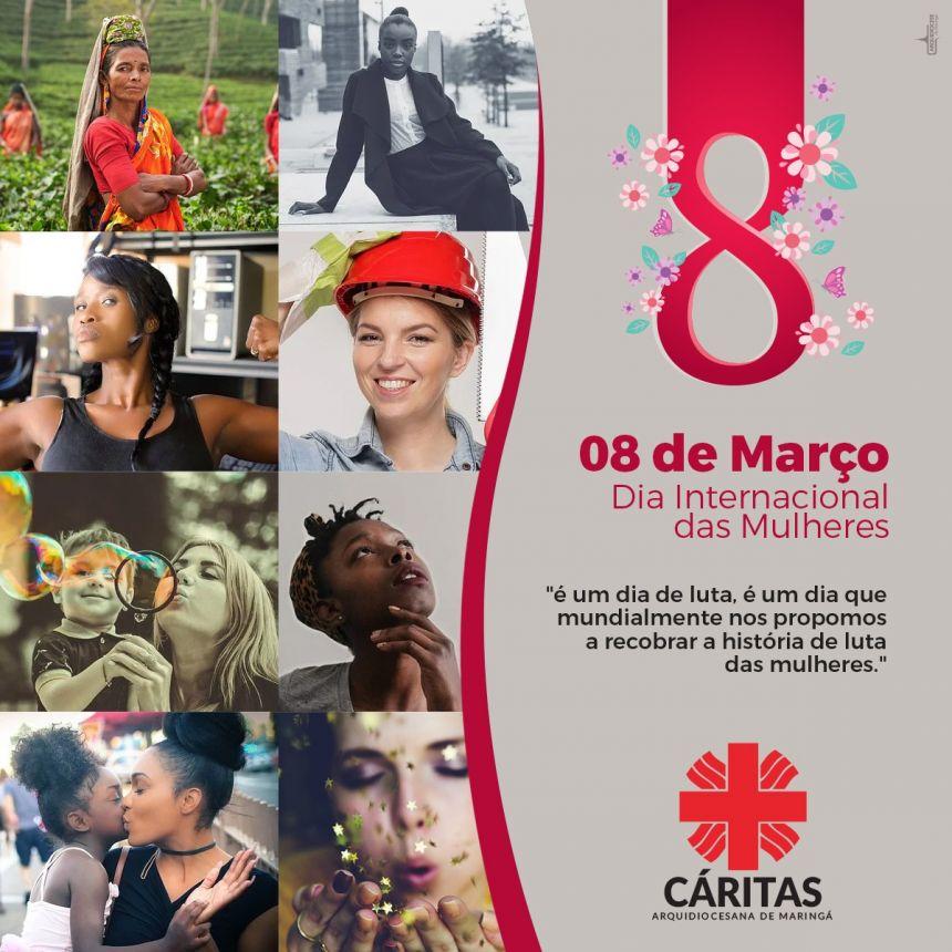 08 de Março Dia Internacional das Mulheres