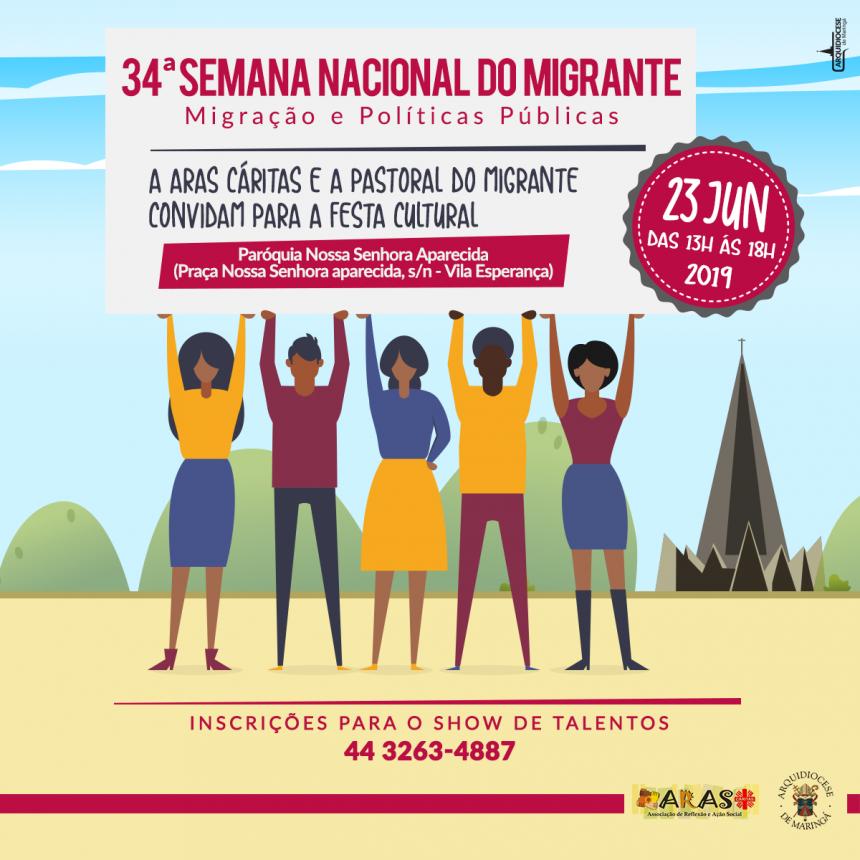 34ª Semana Nacional do Migrante