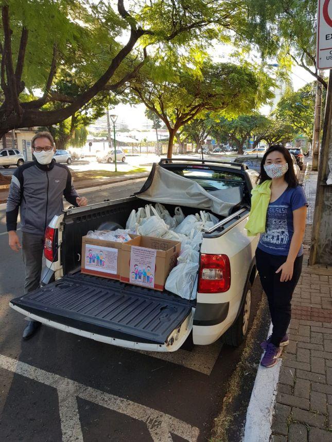 Doações Recebidas do Rotaract Club de Maringá