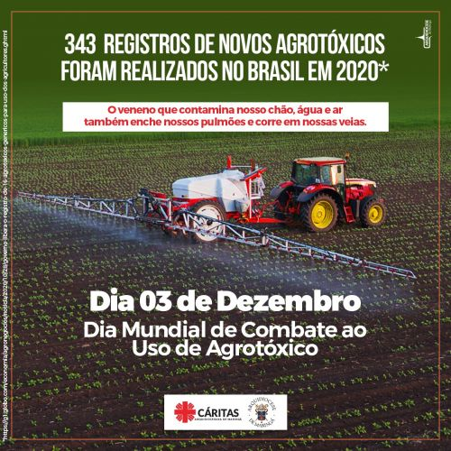 Dia 03 de Dezembro - Dia Mundial do Combate ao Uso de Agrotóxico