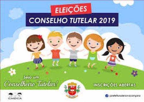ELEIÇÕES DO CONSELHO TUTELAR - 2019