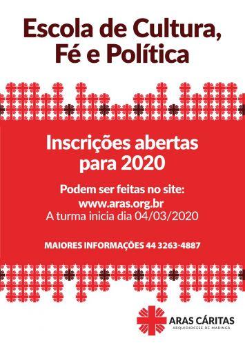 Escola de Cultura, Fé e Política 2020