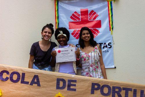 Formatura Escola de Português para Migrantes