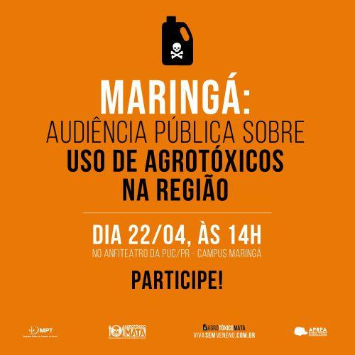 Audiência Pública - Uso de Agrotóxicos na Região