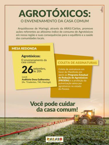 Agrotóxico: O Envenenamento da Casa Comum