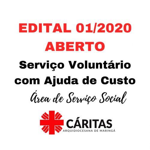 Edital 01/2020 - ABERTO