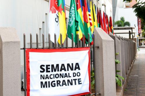"""36ª Semana Nacional do Migrante  Migração e Diálogo. """"Quem bate a Nossa Porta?"""""""