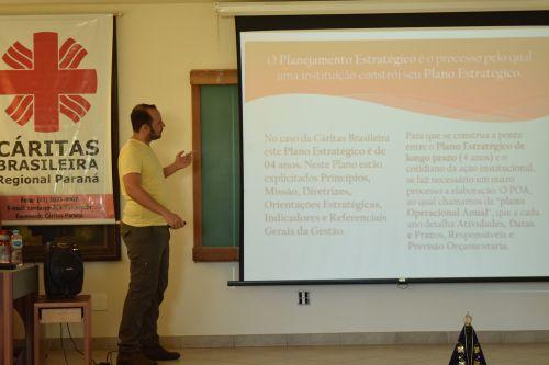 Encontro de Monitoramento da Cáritas Regional Paraná