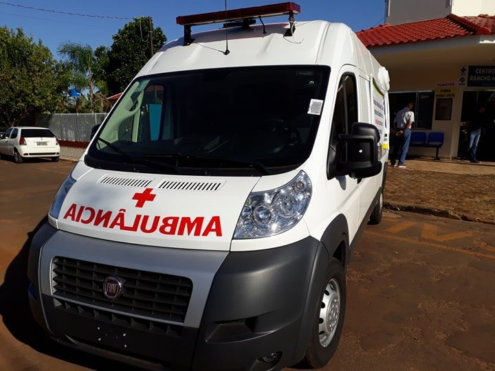 Rancho Alegre D′Oeste Recebe Ambulância 0 KM