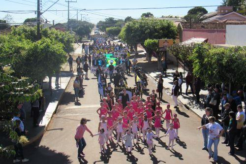 Desfile civico Av Paraná