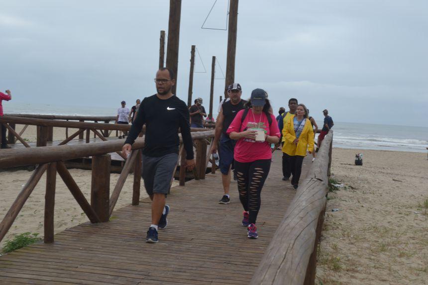 Caminhada na Natureza - Brisa do Mar foi um sucesso