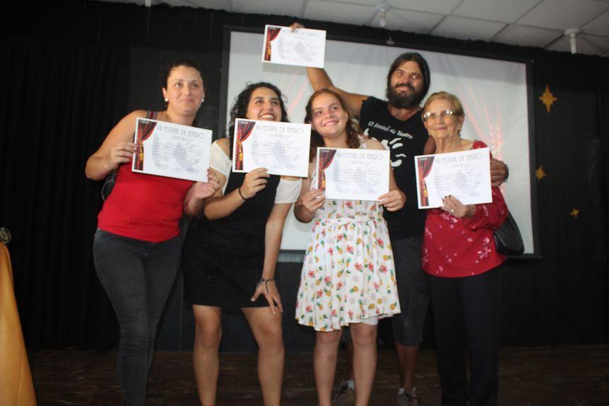 Festival de Teatro de Pontal do Paraná premiou os melhores de 2019